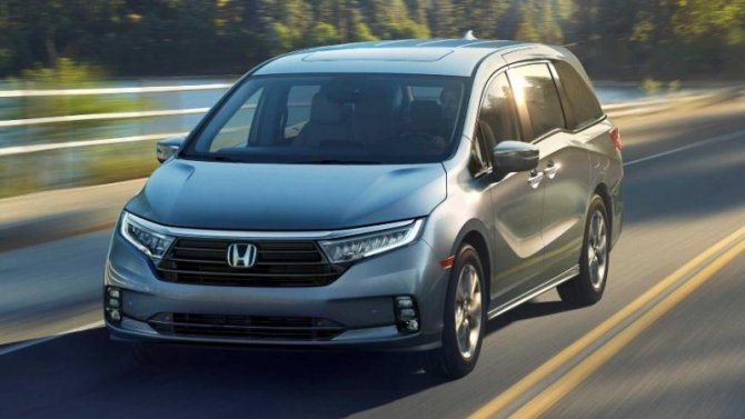 Новая Honda Odyssey готовится кпремьере