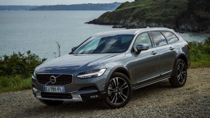Выросли цены начетыре модели Volvo