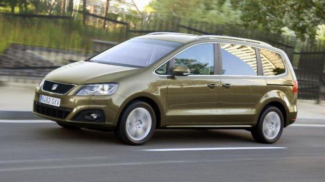Скоро прекратится выпуск минивэна SEAT Alhambra