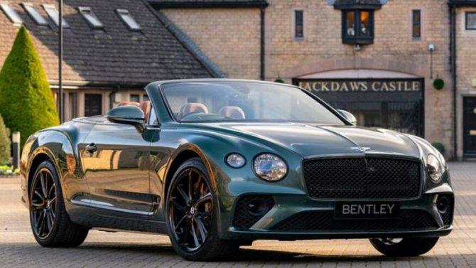 Bentley ContinentalGT получил версию для любителей конного спорта