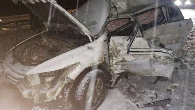 В ДТП в Бурятии погибла женщина