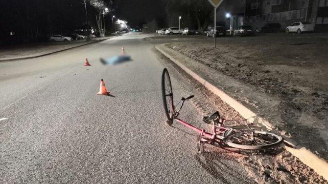 В Оренбурге насмерть сбили велосипедиста