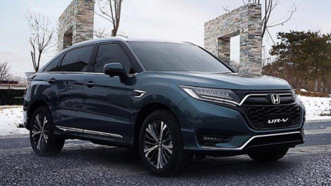 Обновлённая Honda UR-V: скоро впродаже