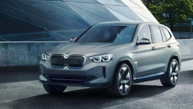 Винтернете появились фото серийного электрокроссовера BMW iX3