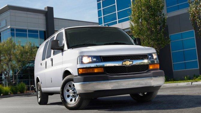 Chevrolet Express получил новый мотор