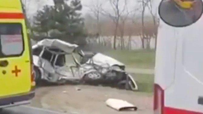 В ДТП на выезде из Анапы погиб мужчина