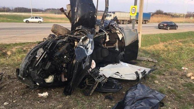 Три человека погибли в ДТП на Кубани