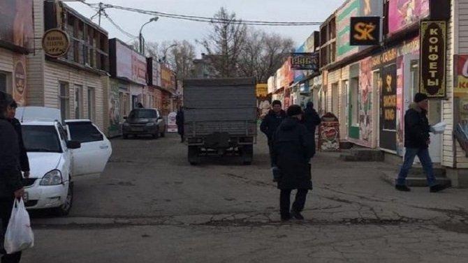 В Сызрани грузовик насмерть задавил женщину