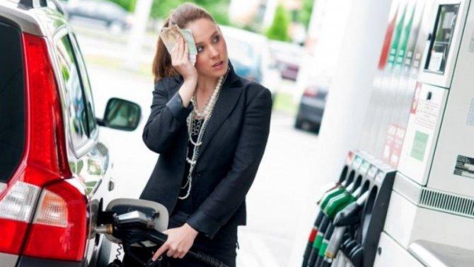 Как инфляция повлияла настоимость топлива?