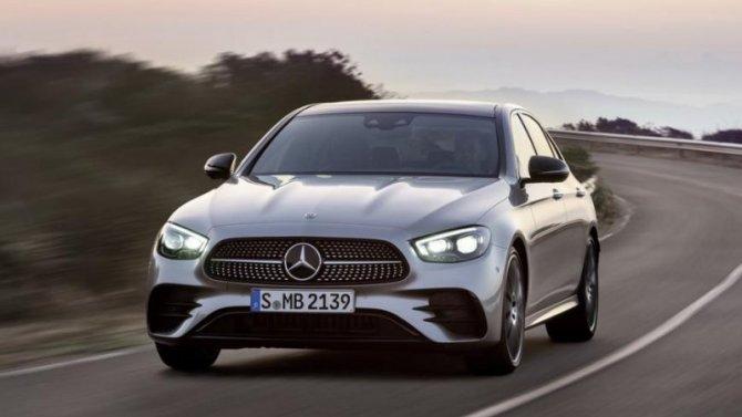 ВШтутгарте показан новый Mercedes-Benz E-Klasse