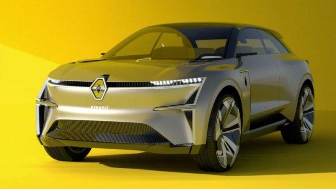 Представлен электрический концепт-кар Renault Morphoz