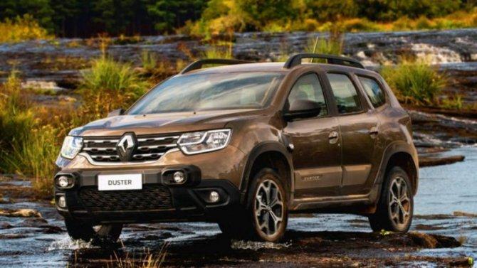 Renault Duster получил новую модификацию