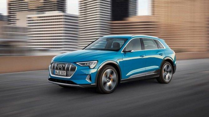 ВРоссии сертифицирован Audi e-Tron