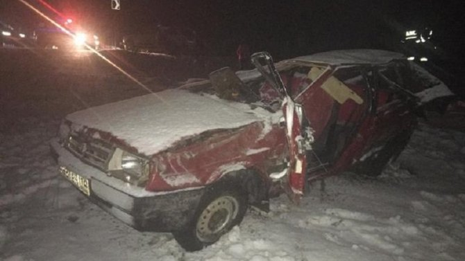 Водитель ВАЗа погиб в ДТП в Челябинской области