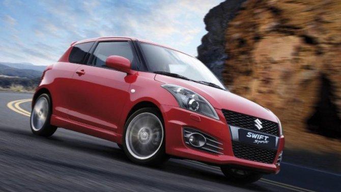 Suzuki Swift Sport станет гибридным