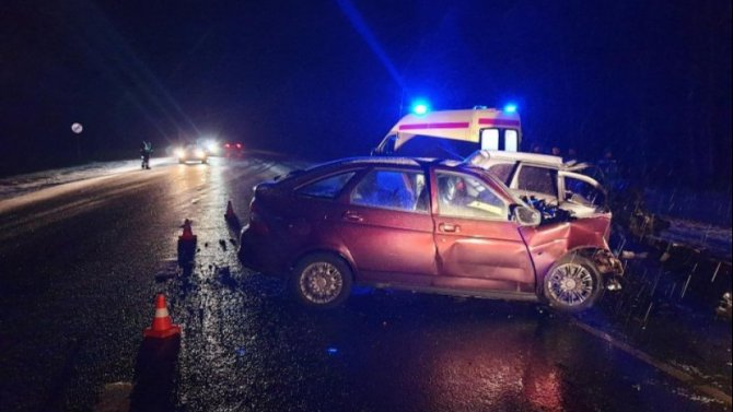 В Рязанской области в ДТП погибли два водителя