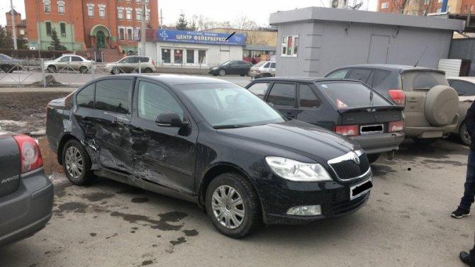 Двое детей пострадали в ДТП в центре Омска
