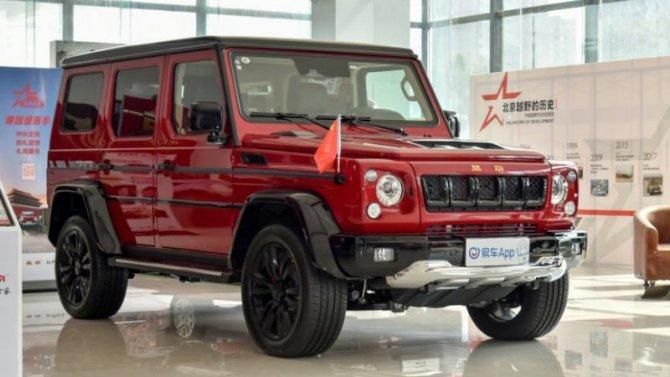 Beijing BJ80 получил более мощный двигатель