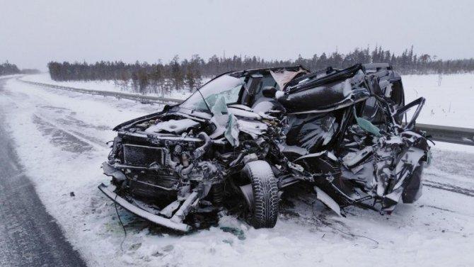 Два человека пострадали в ДТП в Лоухском районе Карелии
