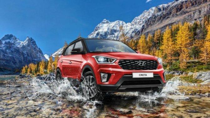 Названы рублёвые цены наобновлённый Hyundai Creta