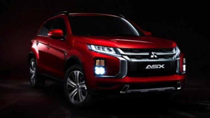 Известны рублёвые цены наобновлённый Mitsubishi ASX