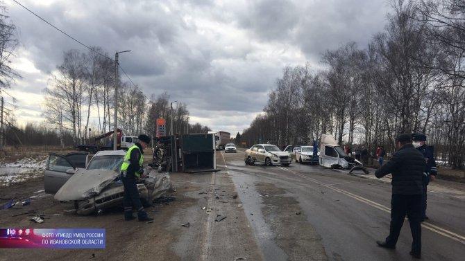 Два человека погибли в ДТП в Ивановской области (3)