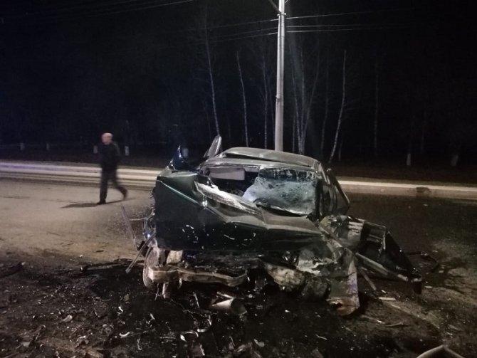 Водитель BMW погиб в ДТП под Оренбургом (3)