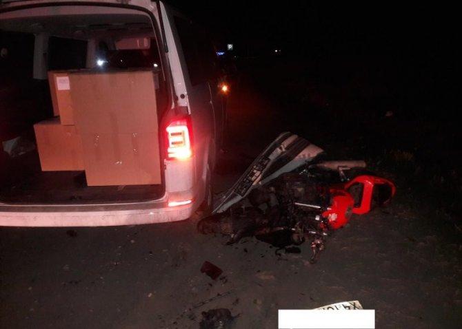 Под Рязанью в ДТП погиб мотоциклист (2)