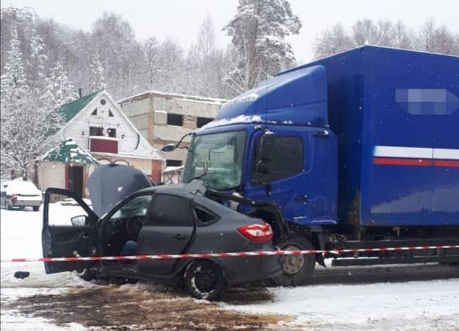 В ДТП с грузовиком в Белорецком районе Башкирии погиб мужчина (2)