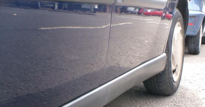3 Автомобиль с дефектами
