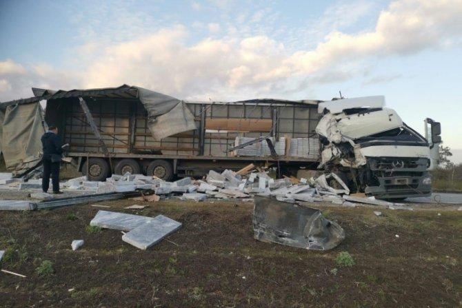 В ДТП с грузовиками в Волгоградской области погибли два человека (2)