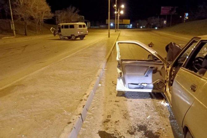 В Кургане по вине пьяного водителя пострадали три человека (2)