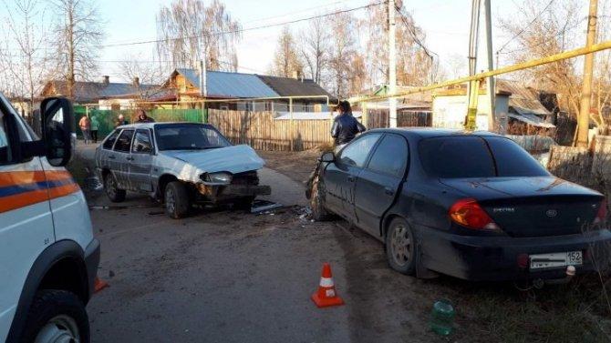 Годовалый ребенок пострадал в ДТП в Борском районе
