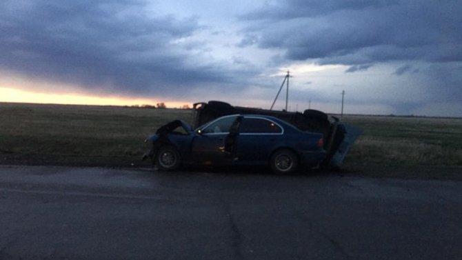 В ДТП в Омской области погиб пожилой мужчина