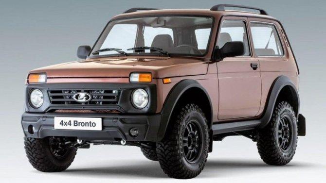 Lada 4x4 Bronto получит обновления