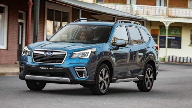 Падение рубля: подорожали автомобили Subaru
