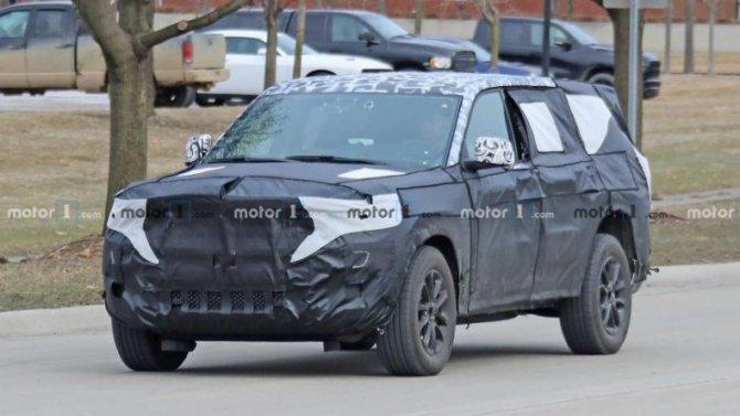 Новый Jeep Grand Cherokee: стало известно больше