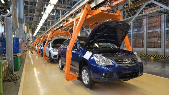 Российский автопром снизил объёмы производства