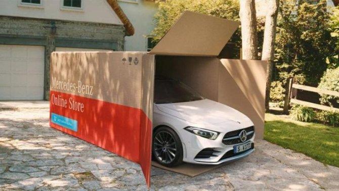 Пандемия: Mercedes-Benz начал доставлять автомобили надом