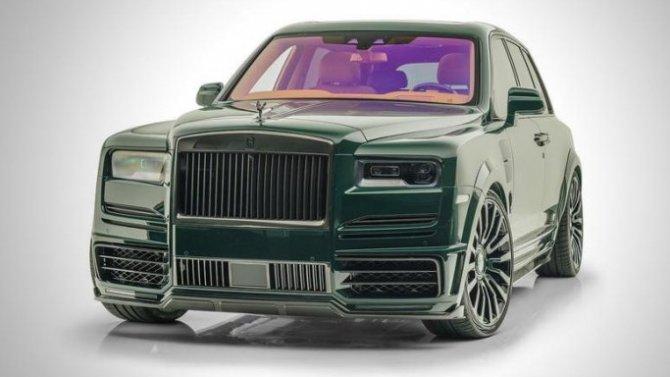 Rolls-Royce Cullinan мимикрирует под гоночный болид