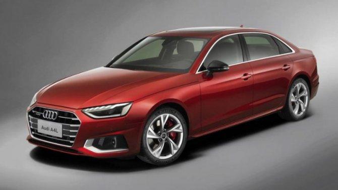 Нарынке появился обновлённый Audi A4L