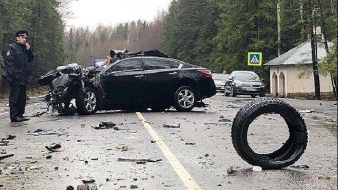 Три человека погибли в ДТП в Псковской области