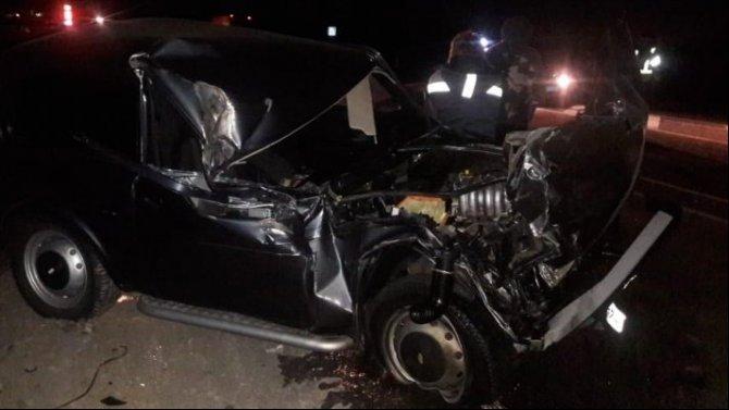 Водитель «Нивы» погиб в ДТП с КамАЗом в Воронежской области