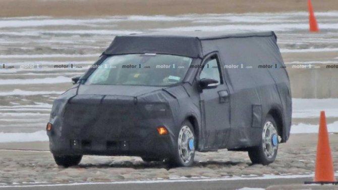 Надорогах замечен новый пикап Ford