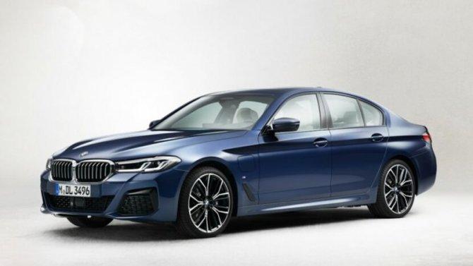 Рассекречена внешность нового седана BMW 5-Series