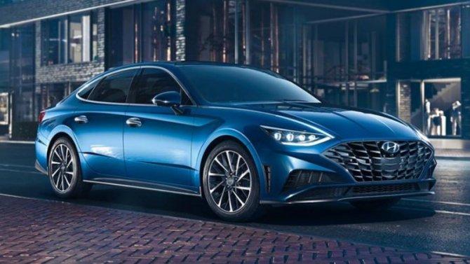Представлен обновлённый Hyundai Sonata