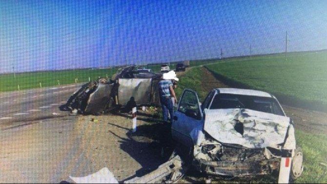 Водитель погиб в ДТП в Брюховецком районе