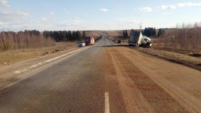 Женщина-водитель погибла в ДТП под Ижевском