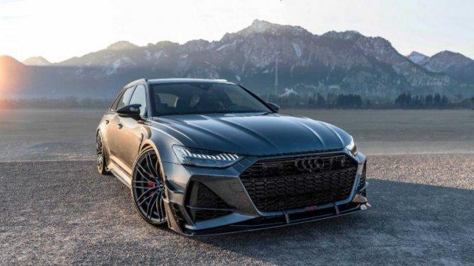 Audi RS7-R стал «фотомоделью»