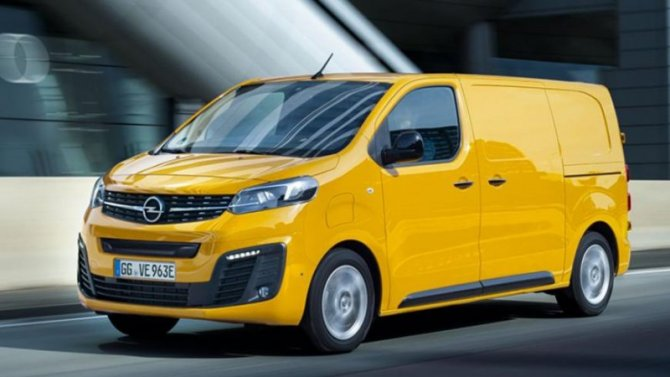 Представлен электрофургон Opel Vivaro-e